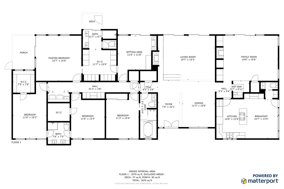 Floor plan for home on market 25 georgeff road rolling hills for Stetson homes floor plans